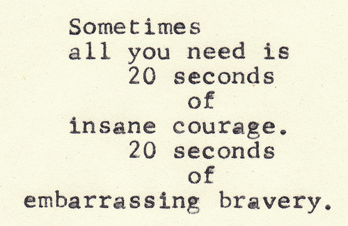 30 seconds of courage